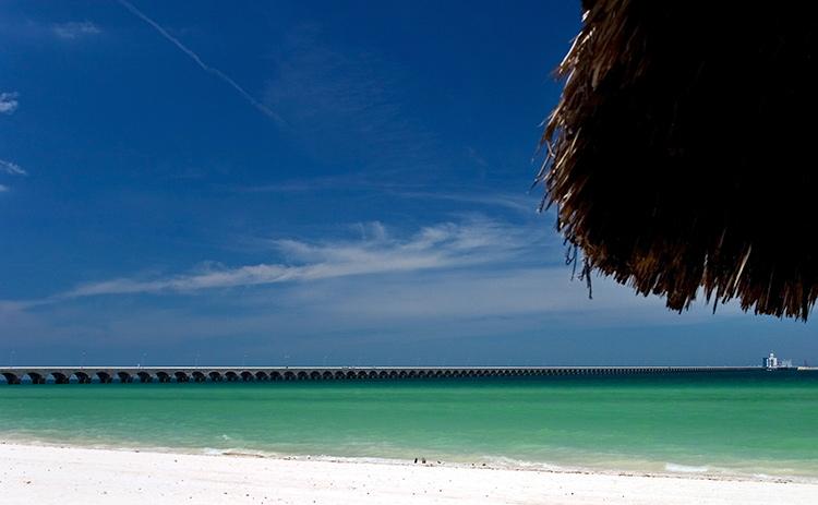 Мексиканский залив с этой стороны не чета...