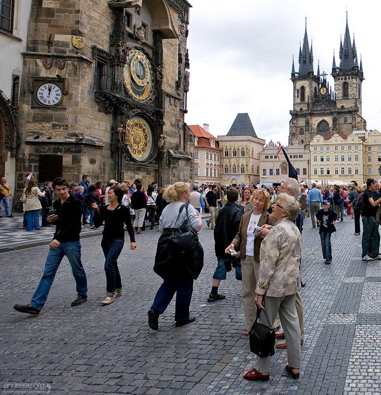 прага чехия фото туристов заранее создать