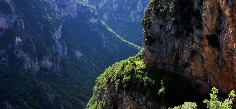 Греция: фотографии Загории