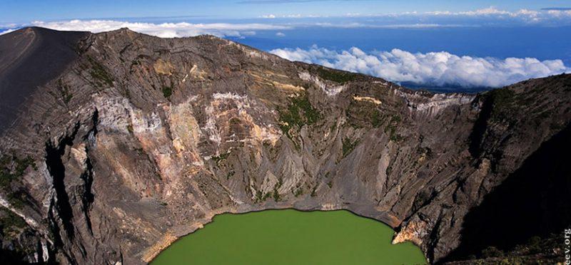 Озеро кислоты, Коста-Рика
