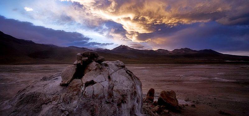 Рассвет на Эль Татио (Чили – Боливия)