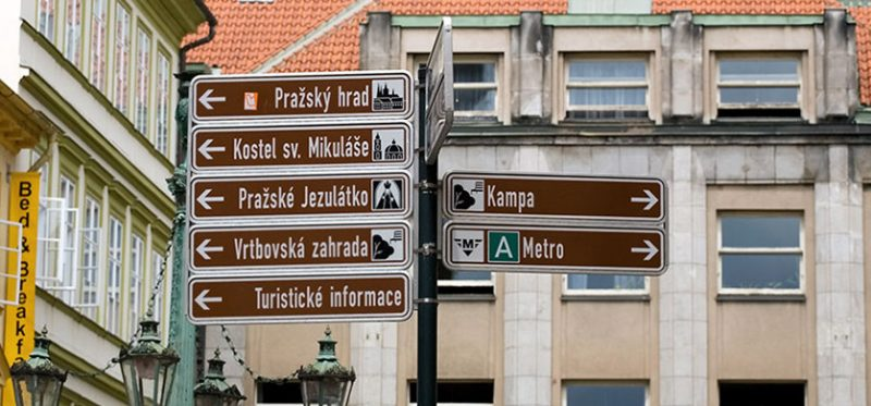 Знаки Праги. Чехия