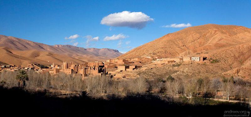 Марокко: по каньонам и ущельям. Фоторепортаж