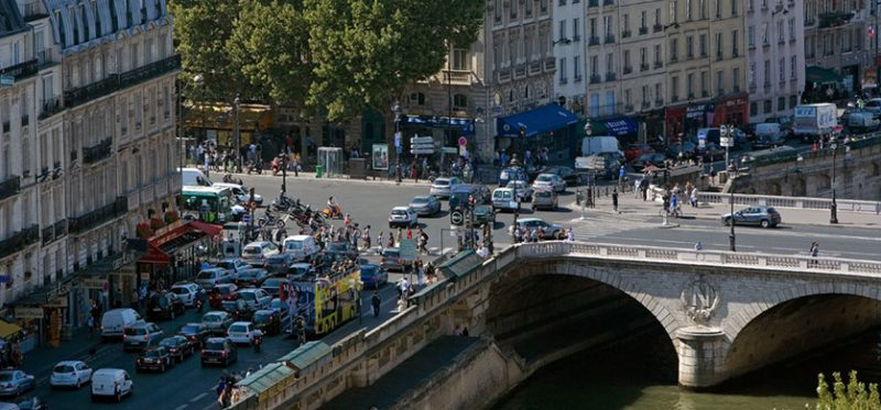 Париж: уличная жизнь. Фоторепортаж