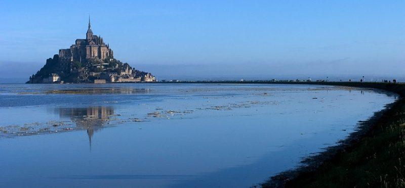 Франция: скала Мон-Сен-Мишель. Фоторепортаж