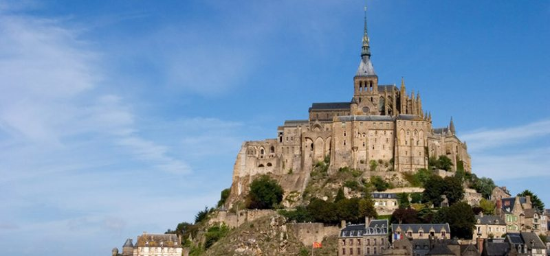 Франция: фотографии аббатства Мон-Сен-Мишель