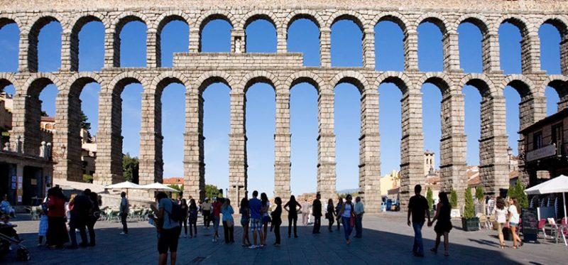 Испания: акведук в Сеговии. Фоторепортаж