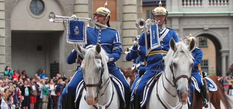 Стокгольм: королевская гвардия Швеции