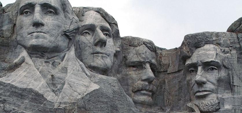 Гора Президентов В США — Скала Рашмор