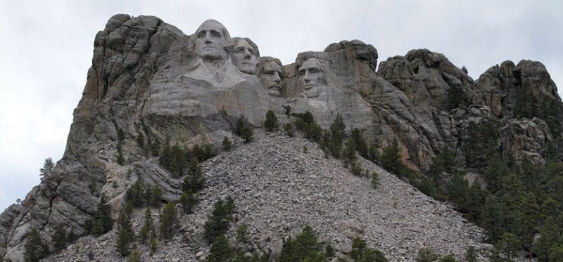 Южная Дакота: фотографии горы Рашмор