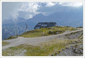 Вершина горы Krippenstein.