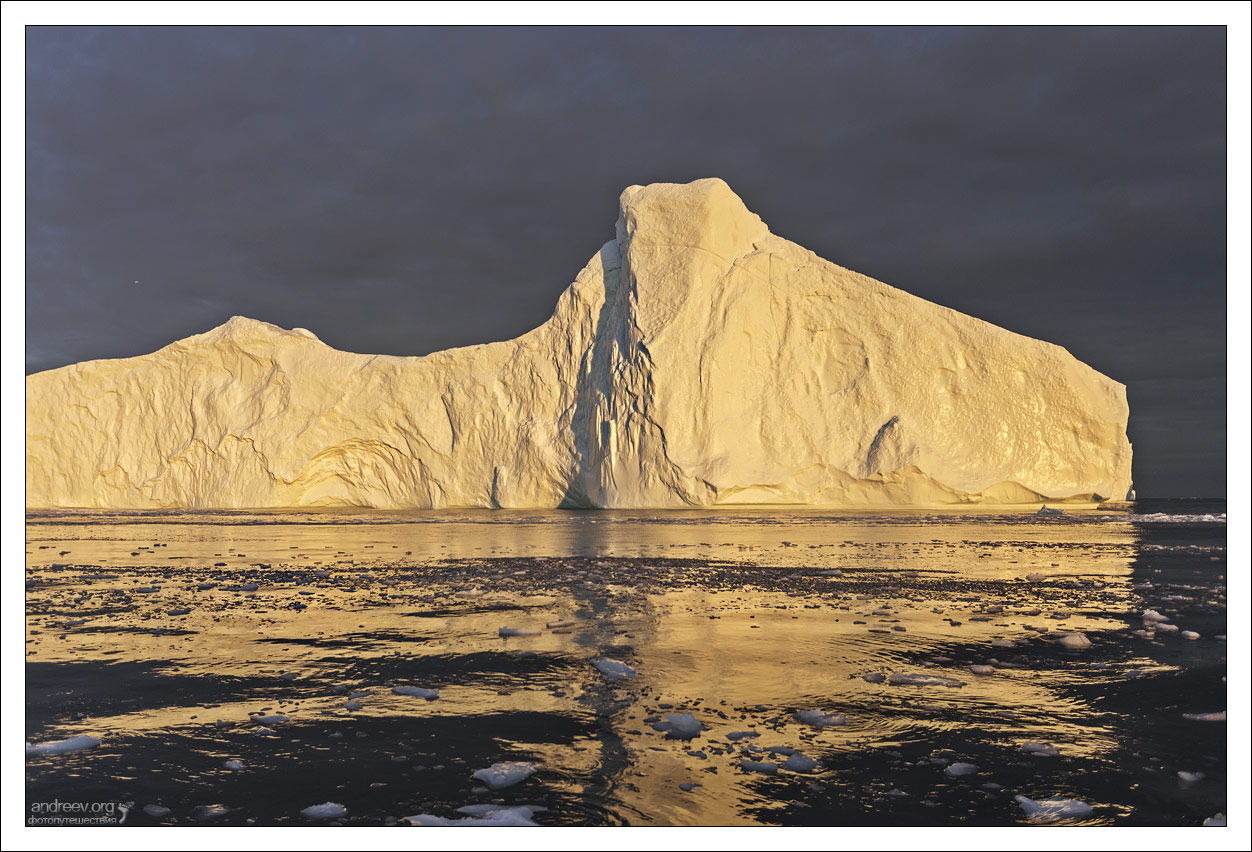 Гренландия: среди полуночных айсбергов