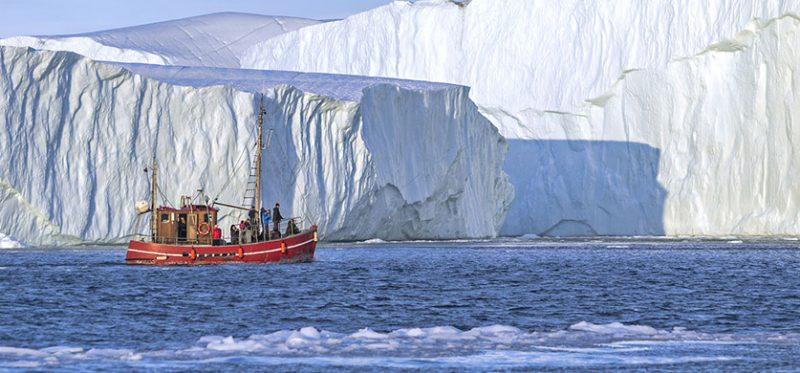 Гренландия: среди полуночных айсбергов. Фоторепортаж