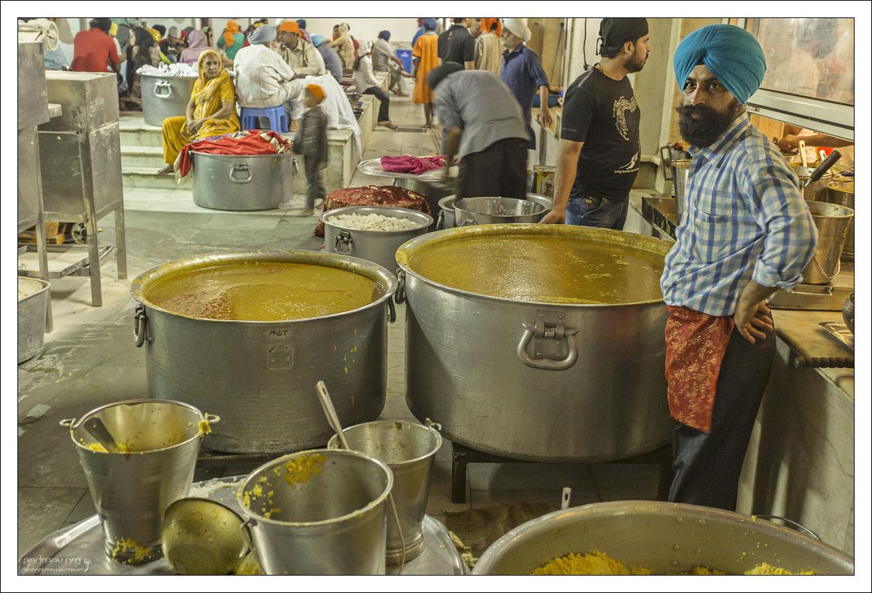 Дели: уличная еда. Фоторепортаж