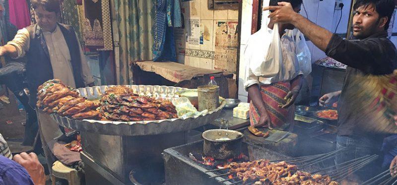 Индия: уличная еда. Фоторепортаж