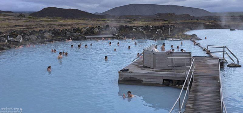 Исландия: вокруг озера Миватн. Фотографии