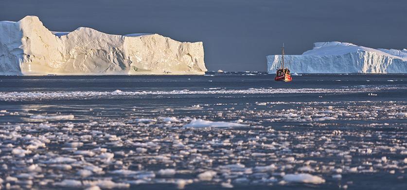 Гренландия: залив Диско. Фотографии