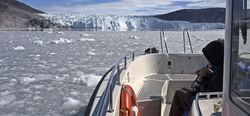 Гренландия: ледник Эки. Фотографии