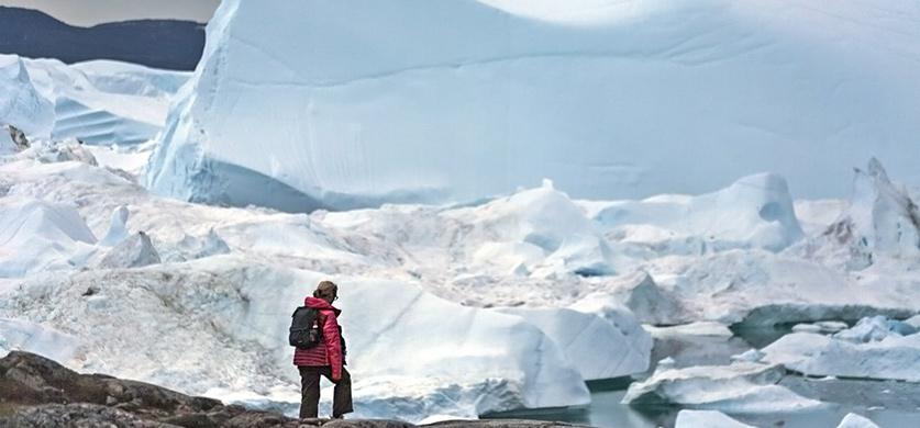 Гренландия: фьорд Илулиссат. Фотографии