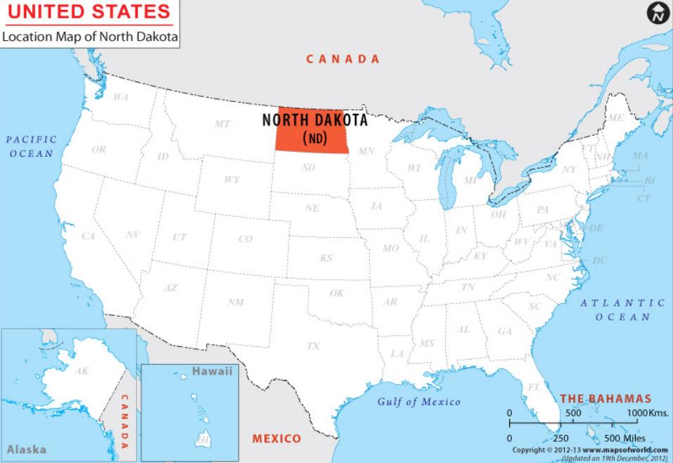 Северная и Южная Дакота после карантина 2020