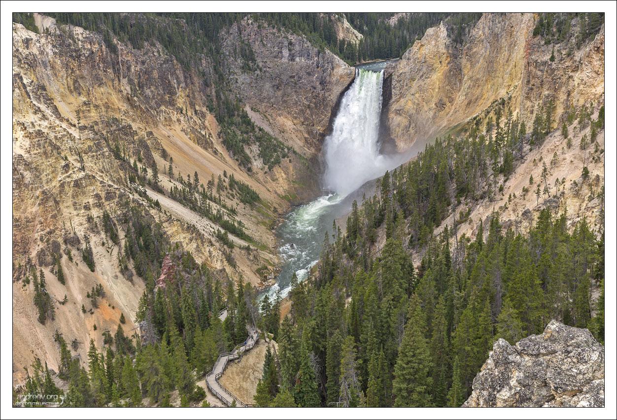 Йеллоустоун: каньоны