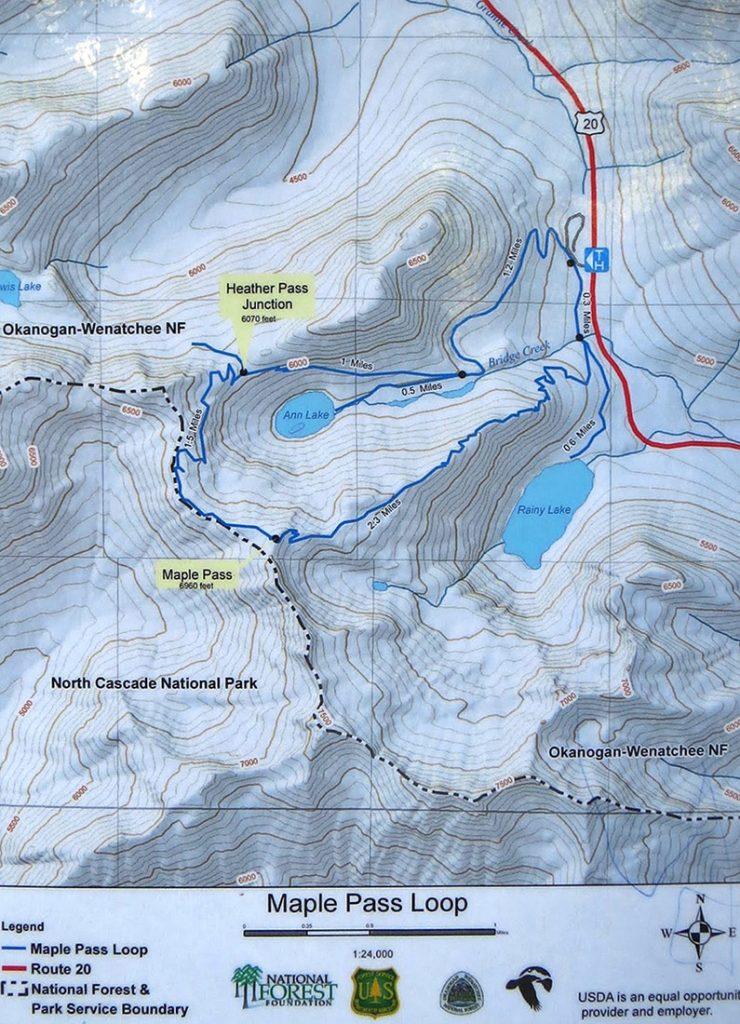 Северные Каскады: через Кленовый перевал