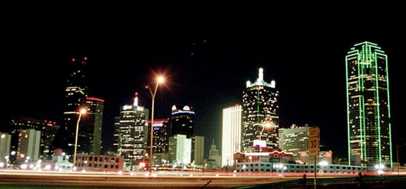 Техас: Даллас на День Благодарения