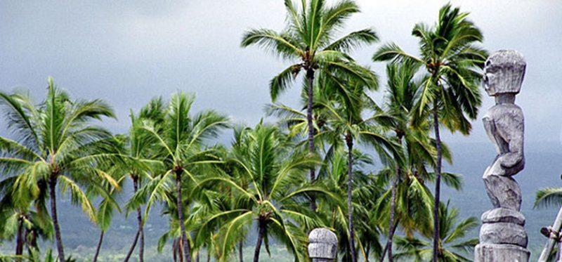 Гавайи, Большой остров: залив капитана Кука
