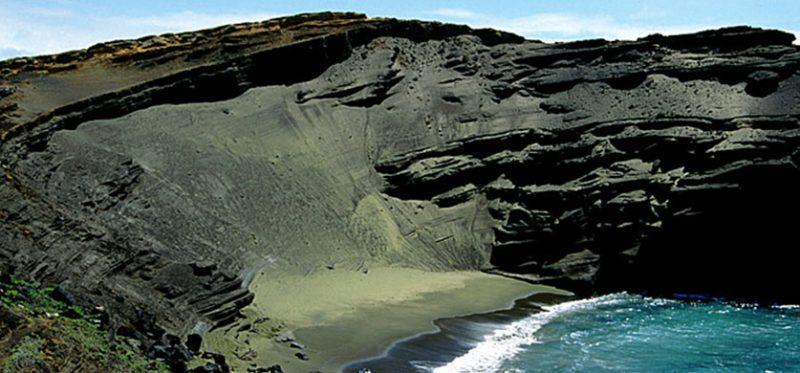 Гавайи, Большой Остров: самая южная точка США