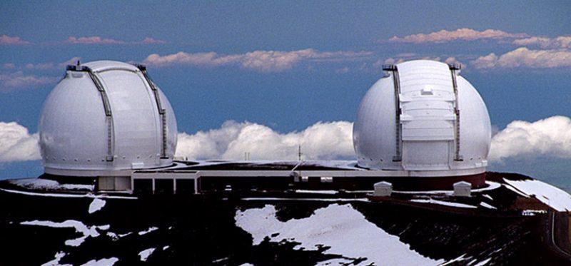 Гавайи, Большой Остров: обсерватория на вершине горы Mauna Kea