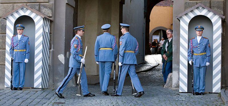 Стражи Града. Прага, Чехия