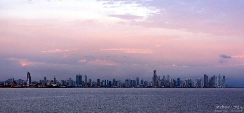 Фотографии Панама-сити и Панамского канала