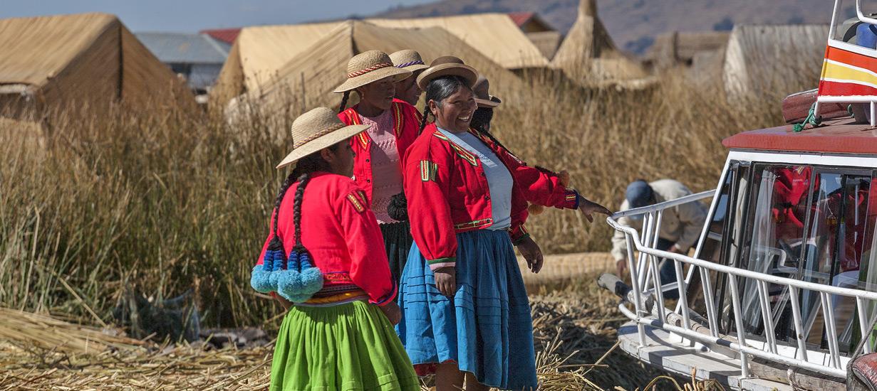 Перу: люди Титикаки. Фоторепортаж
