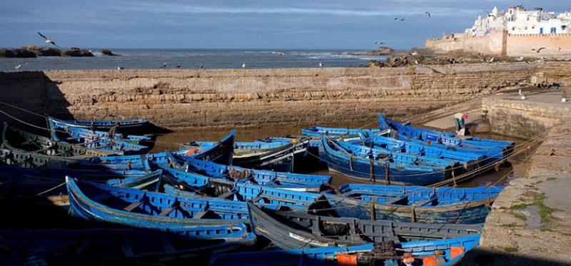 Марокко: синие лодки Эс-Сувейры. Фоторепортаж