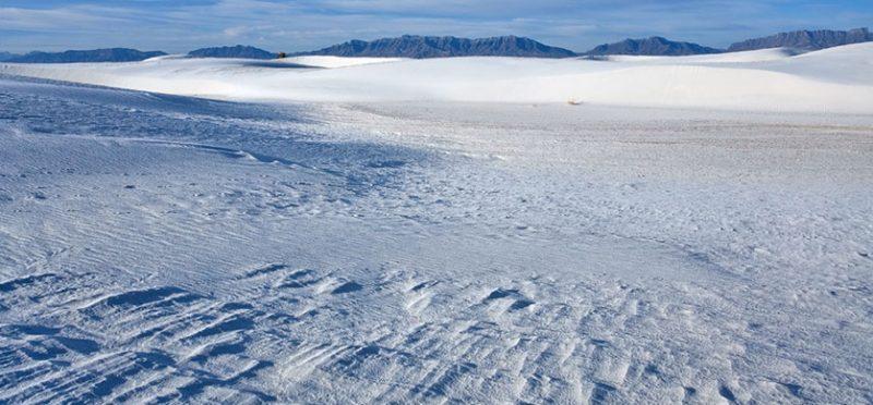 Нью-Мексико: белые пески. Фоторепортаж