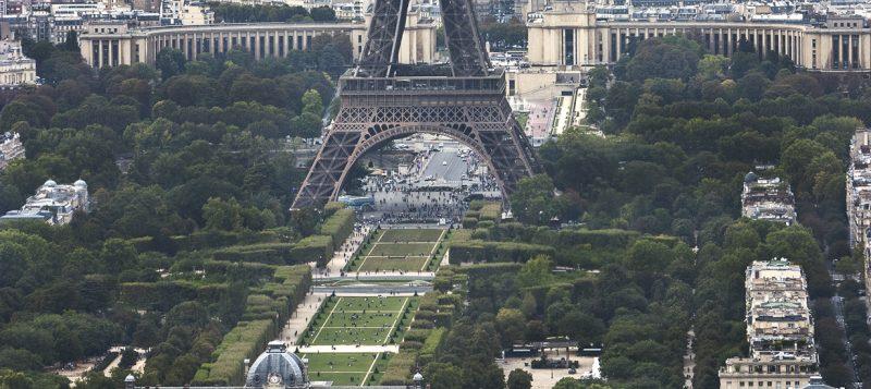 Франция: Париж с высоты. Фоторепортаж