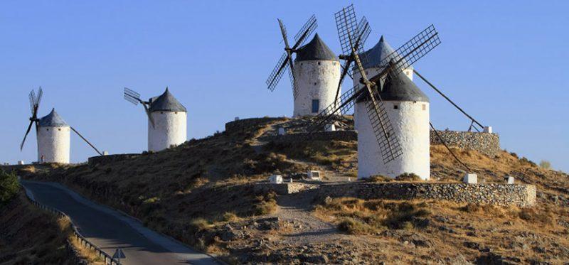 Испания: мельницы Дон Кихота. Фоторепортаж