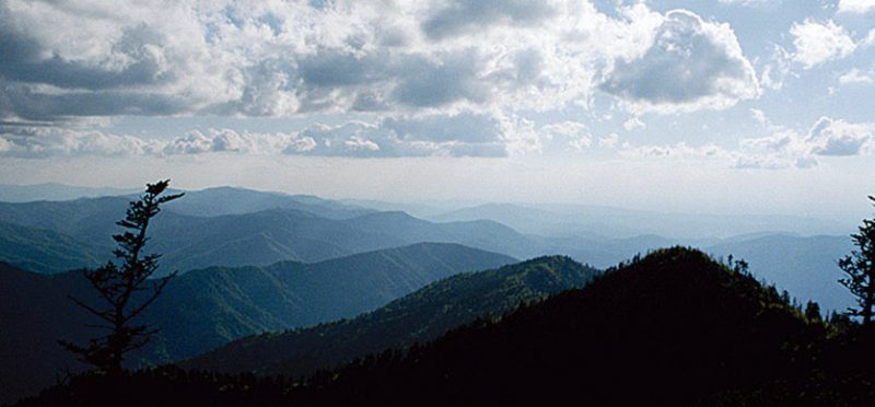 Теннеси: фотографии парка Great Smoky Mountains