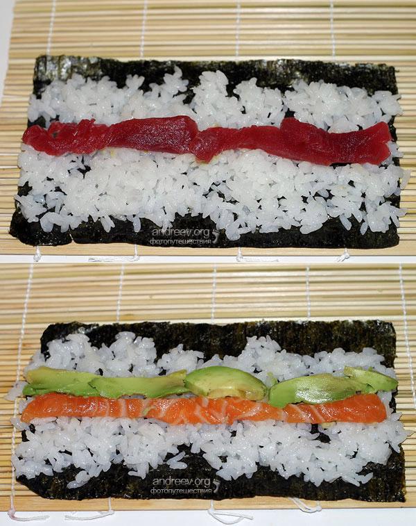 Как запекать суши в домашних условиях 556