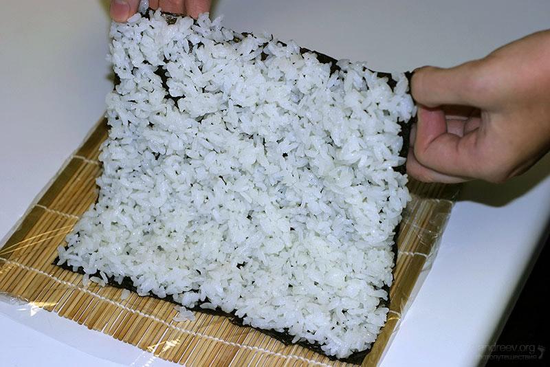 Как сделать рис для роллов в домашних условиях