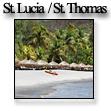 Фотографии островов Сент-Люсия и Сент-Томас