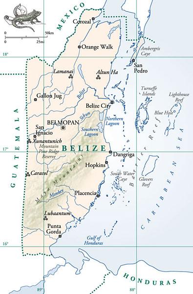 Белиз, Центральная Америка